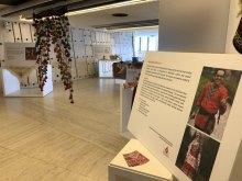 برپایی نمایشگاه هنرهای دستی اقلیتها و اقوام ایرانی در سازمان ملل متحد - Human Arts.Rights Exhibition (5)