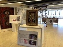 برپایی نمایشگاه هنرهای دستی اقلیتها و اقوام ایرانی در سازمان ملل متحد - Human Arts.Rights Exhibition (6)