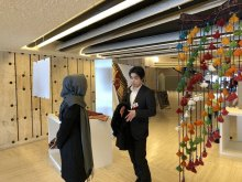 برپایی نمایشگاه هنرهای دستی اقلیتها و اقوام ایرانی در سازمان ملل متحد - Human Arts.Rights Exhibition (23)