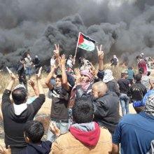 فلسطین - 158 فلسطینی شهید و 17500 نفر زخمی