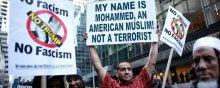 آمریکا - اعتراض علیه اقدامات کینهتوزانه و خشونتهای تبعیضنژادانه دولت آمریکا علیه مسلمانان