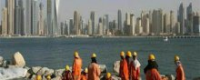 مهاجر - کارگران مهاجر در کشورهای منطقه خلیج فارس و شمال آفریقا (منا)