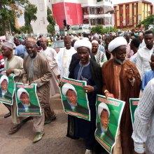 تظاهرات شیعیان نیجریه برای آزادی شیخ الزکزاکی - شیخ الزکزاکی