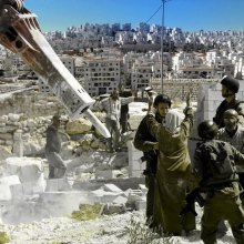 فلسطین - تخریب منازل فلسطینیها توسط اسرائیل، جنایت جنگی است