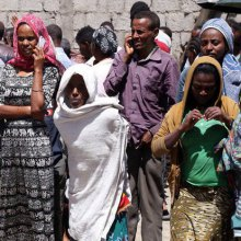 اتیوپی - سعودیها پناهجویان اتیوپیایی را قلعوقمع میکنند
