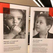 نمایش رنج کودکان بیمار ایرانی در سازمان ملل متحد - E.B