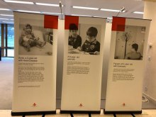 نمایش رنج کودکان بیمار ایرانی در سازمان ملل متحد - 4. E.B