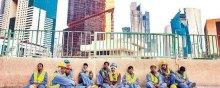 - وضعیت نامناسب کارگران مهاجر در امارات در میانه شیوع بیماری همهگیر کووید ۱۹